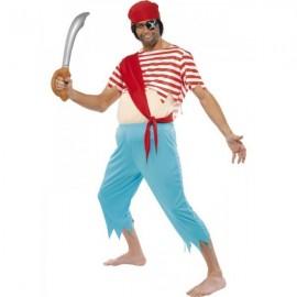 Kostým otrhaného piráta