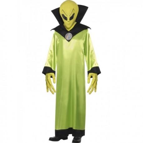 Kostým UFO Mimozemšťan