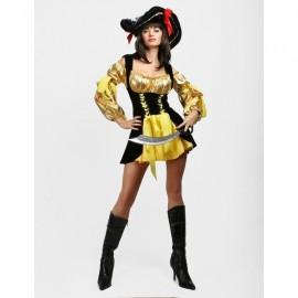 Luxusní kostým pirátky