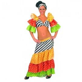 Kostým brazilské tanečnice