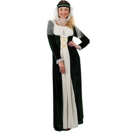 Dámský středověký kostým