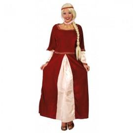 Feudální dáma kostým