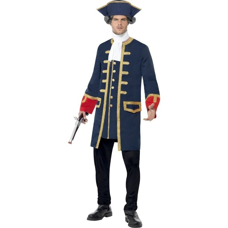 Kostým Kapitán Pirátů - půjčovna kostýmů f84c3037ca7