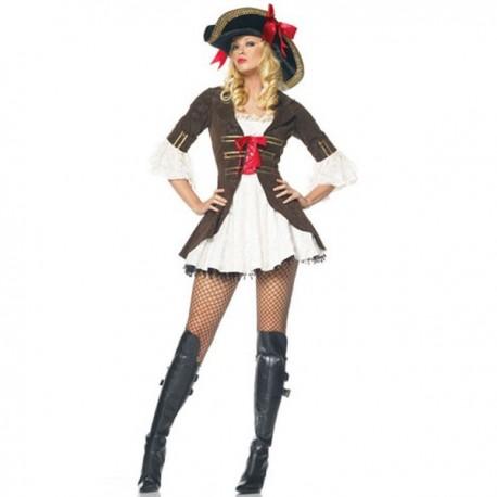 Pohádkový kostým pirátky