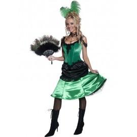 Kankánová tanečnice kostým