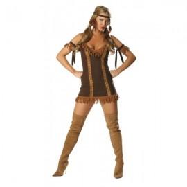 Indiánský kostým pro dospělé