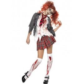 Kostým zombie žákyně