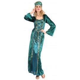 Kostým dámy ze středověku