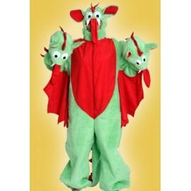 Kostým tříhlavá saň - kostým draka