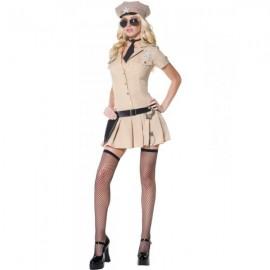 Kostým šerifky ženy zákona