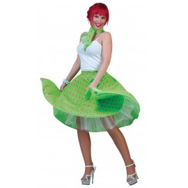 Sukně Rock 'N Roll - zelená