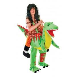 Kostým ochočeného dinosaura Rexe