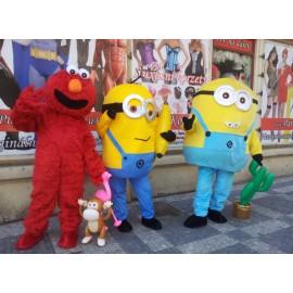 Kostým Red Elmo - Sesam Street