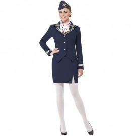 Letuška - modrý kostým