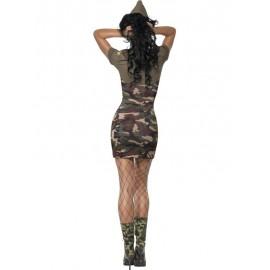 Army kostým majorky