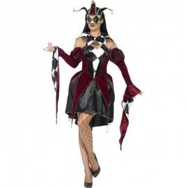 Kostým Gotická Harlequinka