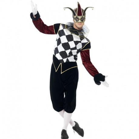 Kostým Gotický Harlequinn