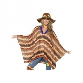 Kostým Pončo Hippie