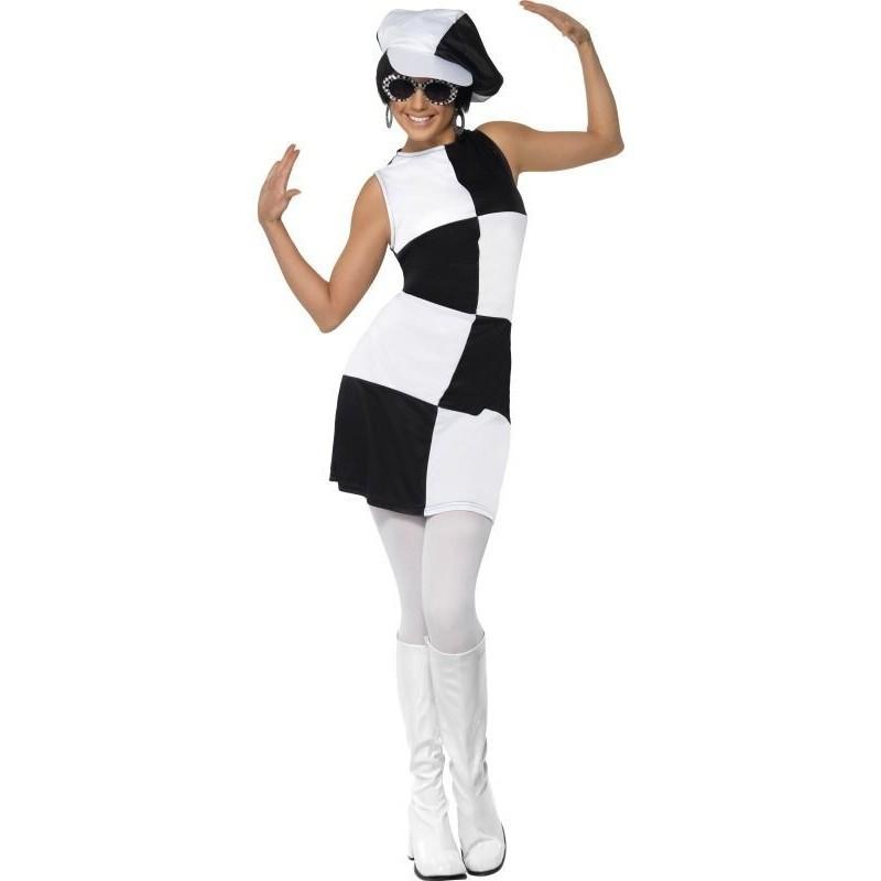 0a915118cc8 Kostým Swing retro Šachovnice