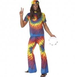 Kostým - Hippiesák barevný