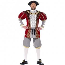 Kostým Henry 8 král