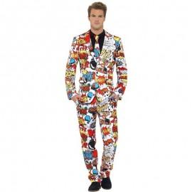Komixový oblek