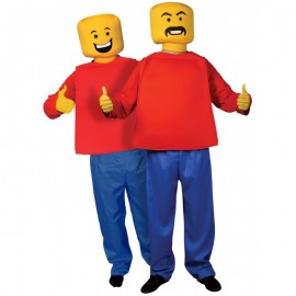 Kostým Lego - mr. Block