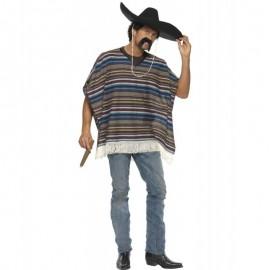 Kostým Mexičana - poncho