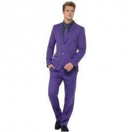 Kostým - fialový oblek