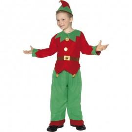 Dětský kostým vánočního skřítka