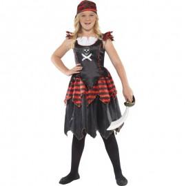 Dětský kostým - pirátka
