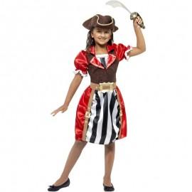 Dětský kostým - pirátské děvče