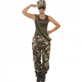 Kostým vojandy - maskáče