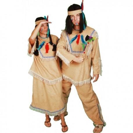 Kostým Indiánka