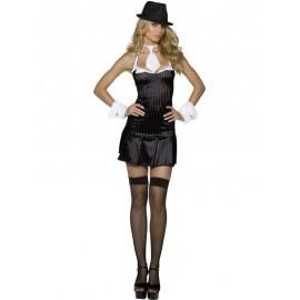 Mafiánský kostým dámský