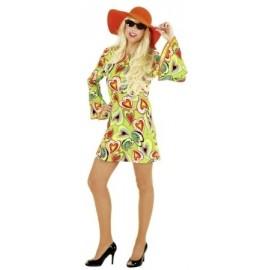 Hipís kostým dámský