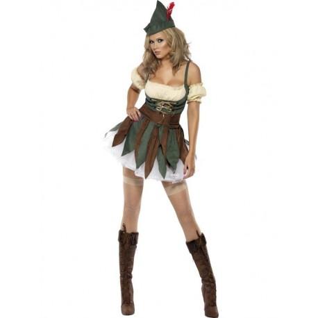 Pohádkový kostým lesní ženy