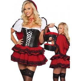 Halloweenský kostým Červené karkulky