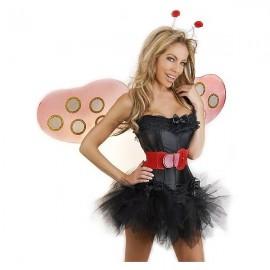 Sexy Beruška korzetový kostým