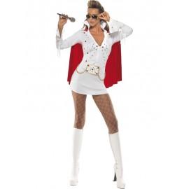 Dámský disco kostým Elvisky