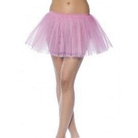 Růžový korzet se sukýnkou