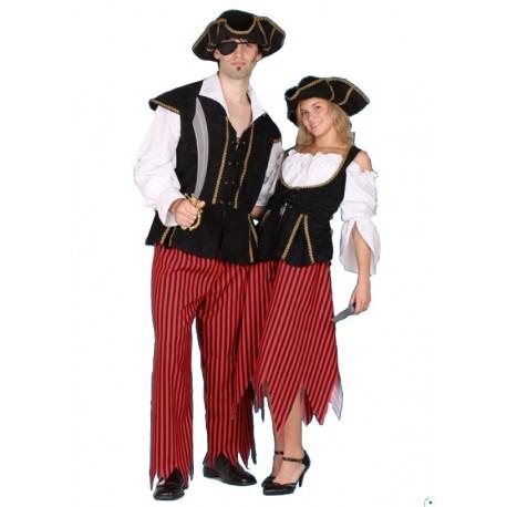 Kostým piráta Deluxe