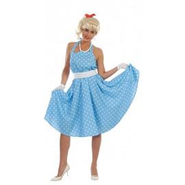 šaty retro 60-70tá léta