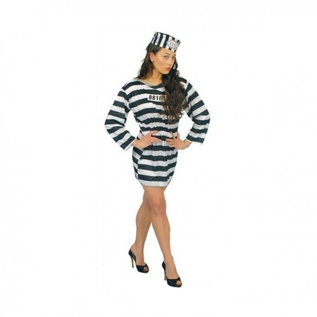 Vězeňkyně kostým