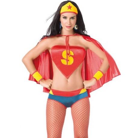 Kostým komiksové hrdinky Super Hero