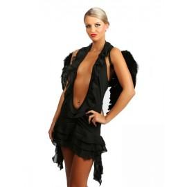 Sexy kostým černého anděla