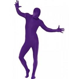 Fialový second skin kostým - morphsuite