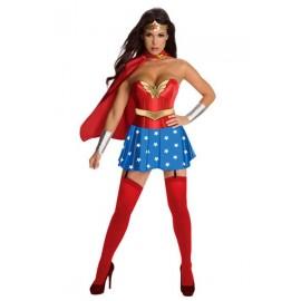 Kostým superhrdinky komix