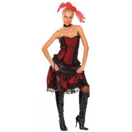 kostým cancan tanečnice