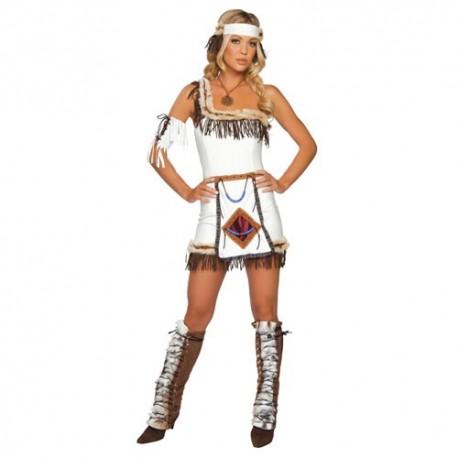 kostým Indiánky